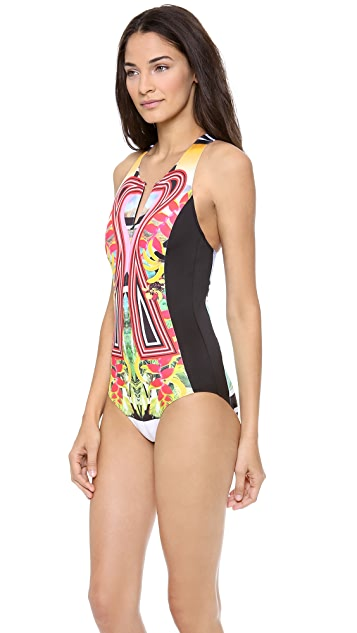 Clover Canyon Tobacco Fields One Piece Swimsuit