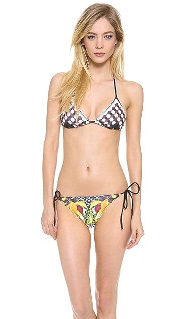 Clover Canyon Banana Scarf Bikini Top
