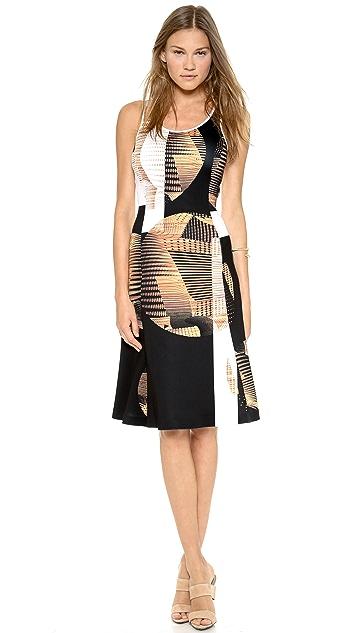 Clover Canyon Metal Orbs Sleeveless Dress