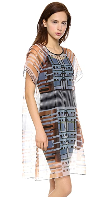 Clover Canyon Woven Organza Dress