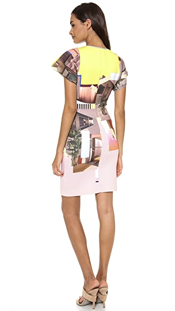 Clover Canyon New Home Short Sleeve Dress