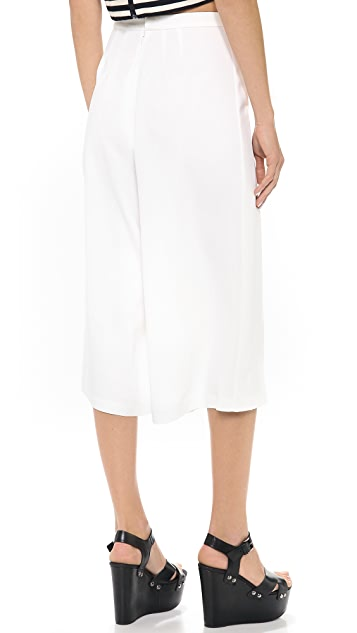 Clover Canyon Wide Leg Cropped Pants