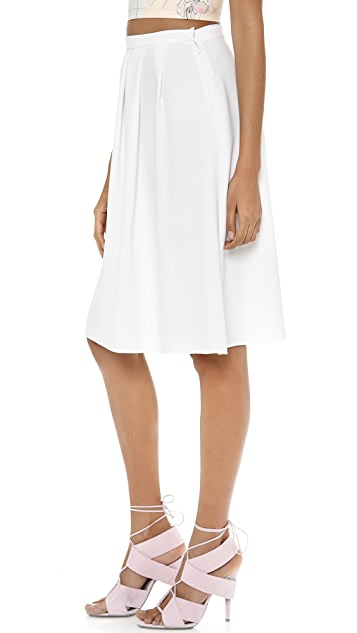 Clover Canyon Solid Skirt