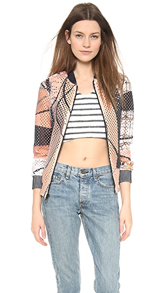 Clover Canyon Palm Springs Perforated Jacket