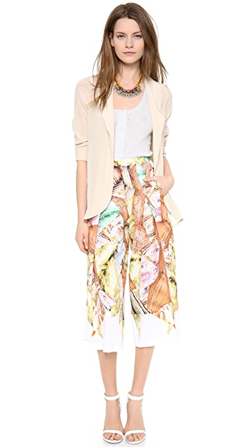 Clover Canyon Canyon Rocks Wide Leg Pants