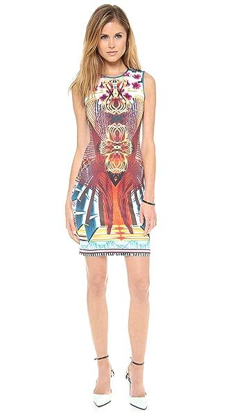Clover Canyon Furniture Weave Sleeveless Dress