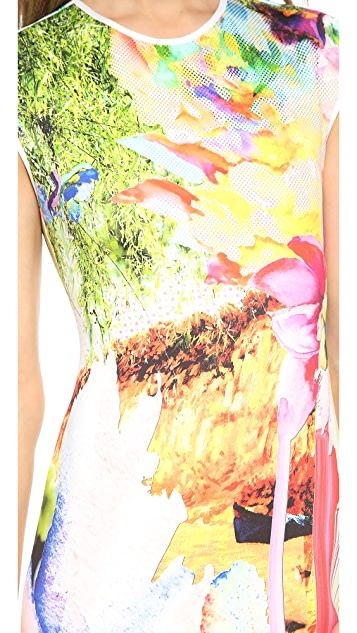 Clover Canyon Griffith Park Cap Sleeve Dress