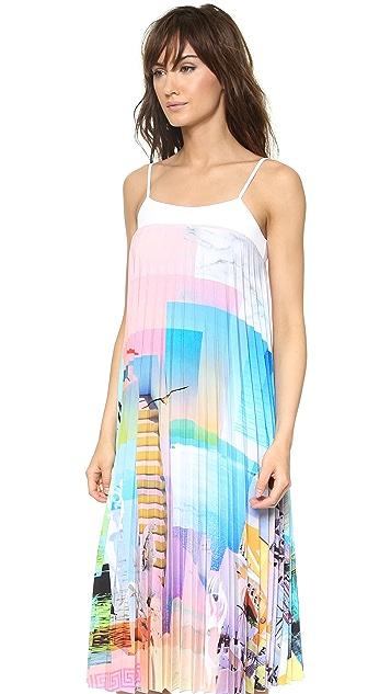 Clover Canyon Greek Dream Pleated Dress