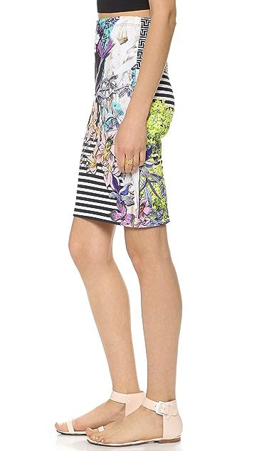 Clover Canyon Enchanted Garden Pencil Skirt