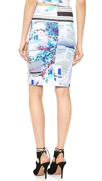 Clover Canyon Santorini Stripe Skirt