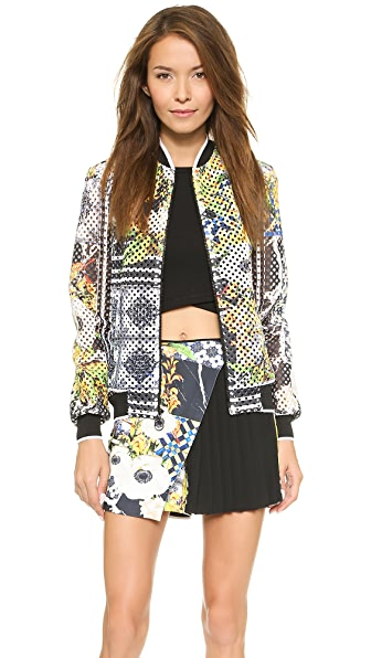 Clover Canyon Greek Tiles Jacket