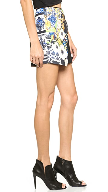 Clover Canyon Greek Tiles Shorts