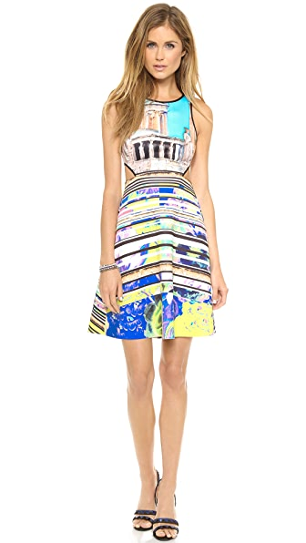Clover Canyon Acropolis Garden Cutout Dress