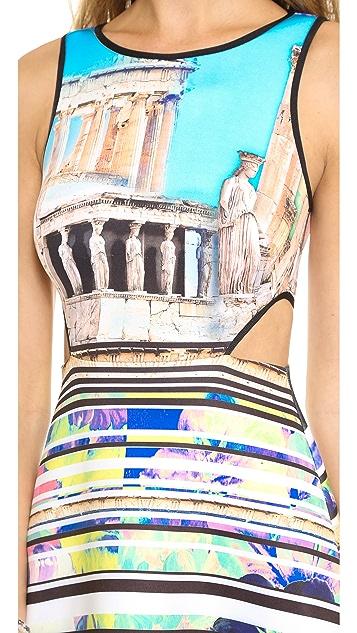 Clover Canyon Acropolis Garden Cutout Dress