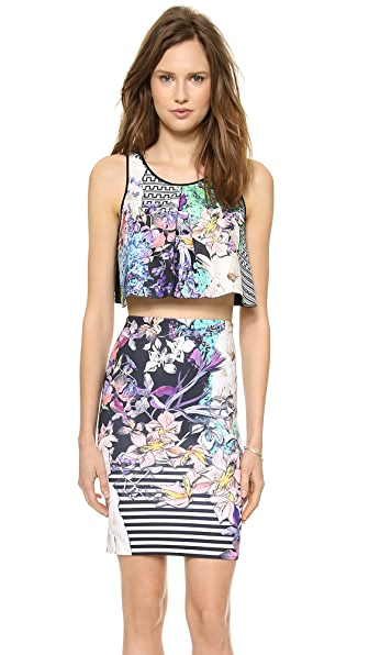 Clover Canyon Enchanted Garden Crop Top
