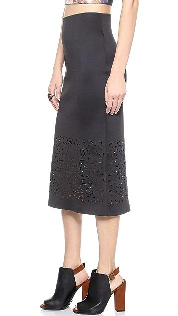 Clover Canyon Laser Cut Skirt