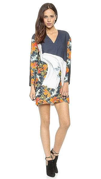 Clover Canyon Lady Wilde V Neck Dress