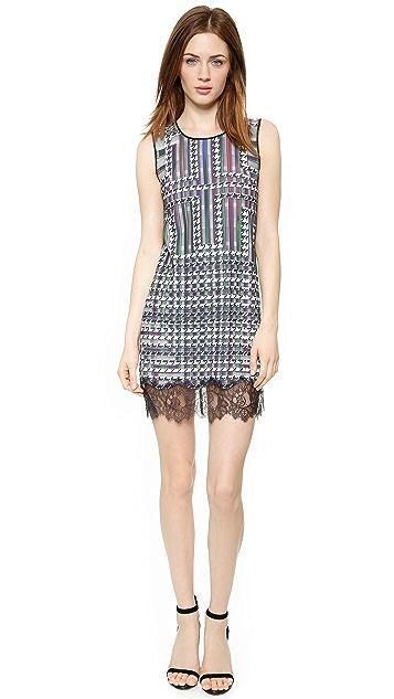 Clover Canyon Trinity College Lace Hem Dress