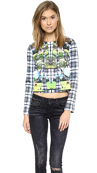 Clover Canyon Emerald Isle Crop Top
