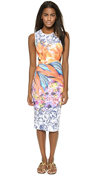 Clover Canyon Birds of a Feather Cutout Dress