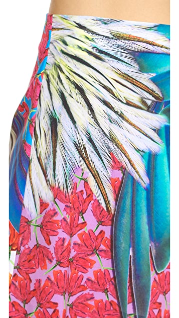 Clover Canyon Carnival Print Shorts