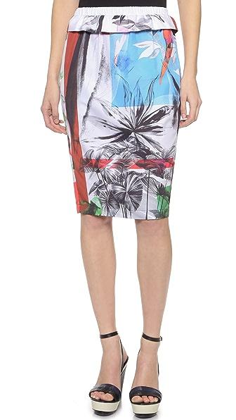 Clover Canyon Abstract Garden Skirt
