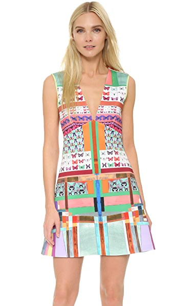 Clover Canyon Butterfly Kaleidoscope Dress