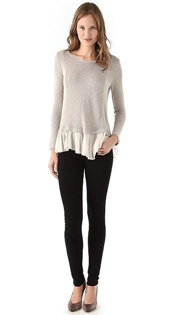 Clu Metallic Sweater