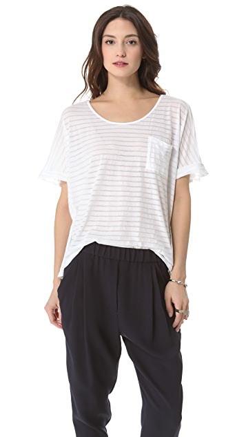 Clu Striped Loose Fit Top