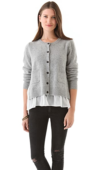 Clu Cardigan with Contrast