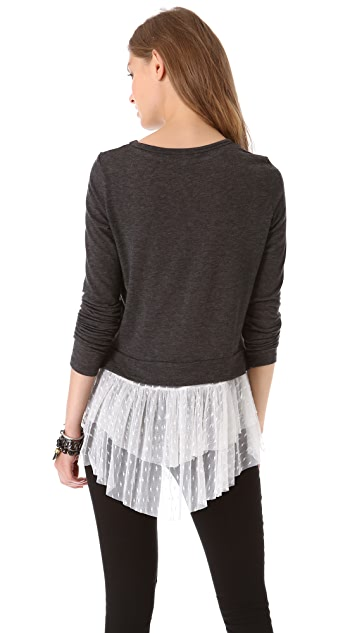 Clu Ruffled Top