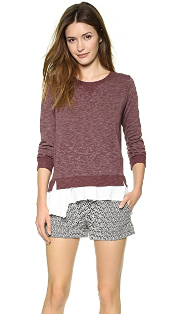 Clu Ruffled Sweatshirt