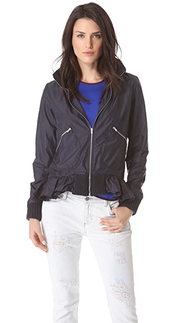 Clu Zip Up Hooded Jacket