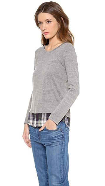 Clu Clu Too Shirttail Top
