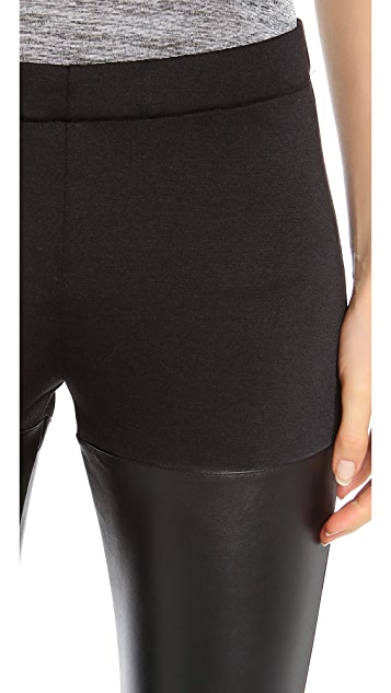 Clu Faux Leather Leggings