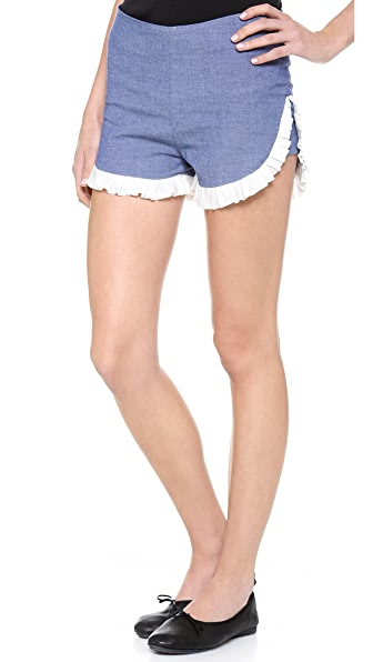Clu Ruffled Shorts