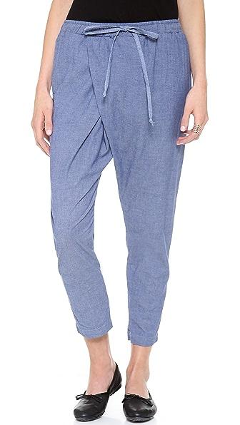 Clu Cropped Sarong Pants
