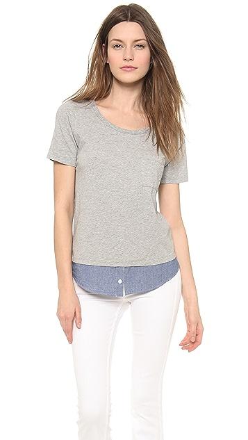 Clu Clu Too Shirt Tailed Top