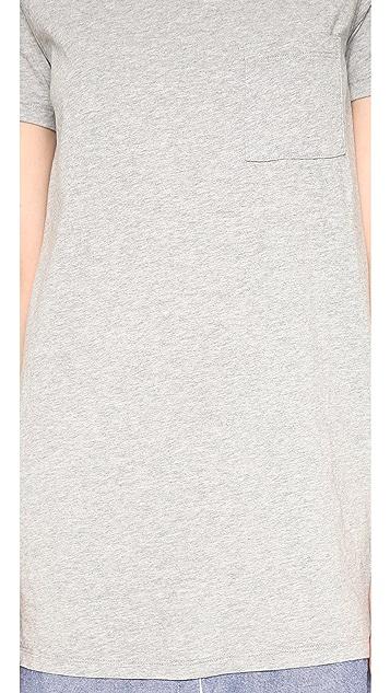 Clu Clu Too Shirt Tailed T-Shirt Dress