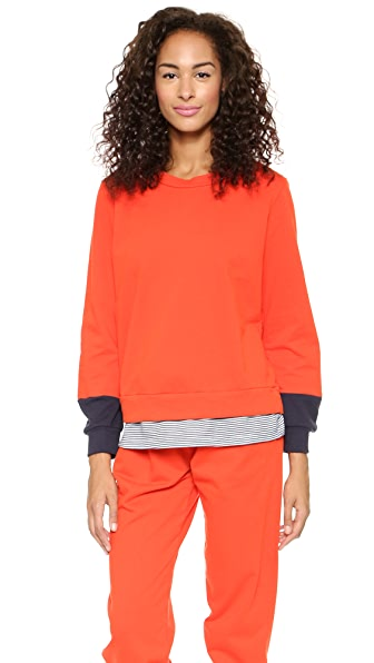 Clu Clu Too Color Block Sweatshirt