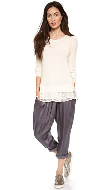 Clu Embroidered Pullover