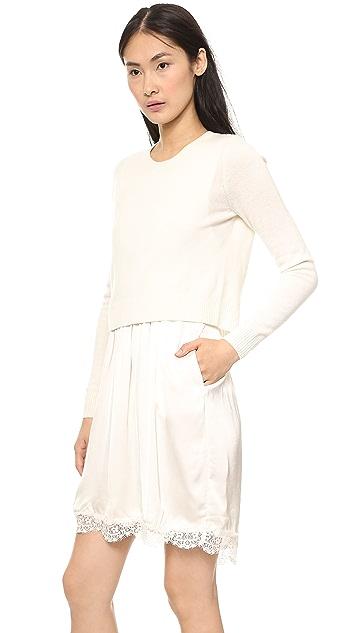 Clu Sweater Attached Slip Dress