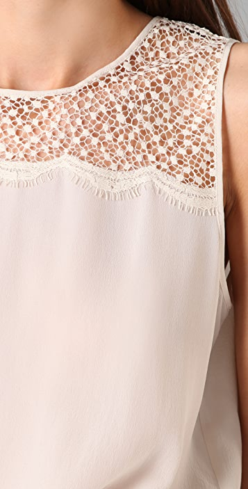 Club Monaco Morgan Lace Tank