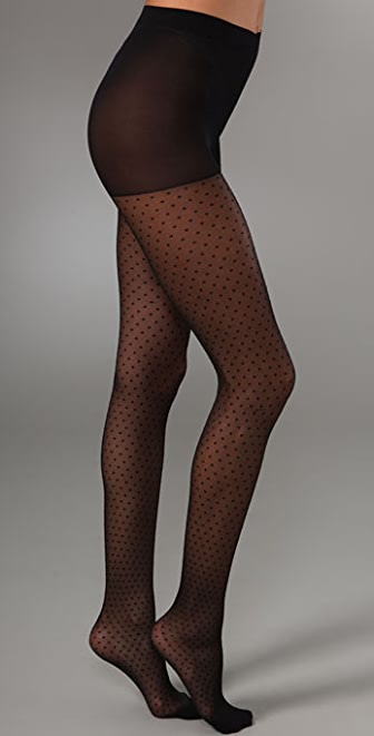 Club Monaco Swiss Dot Tights