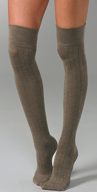 Club Monaco Wool Thigh Highs