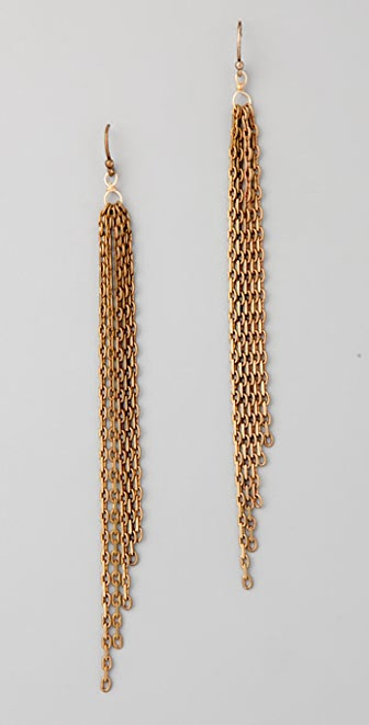 Club Monaco Chain Dangle Earrings