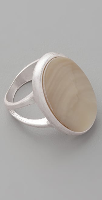 Club Monaco Mother of Pearl Ring
