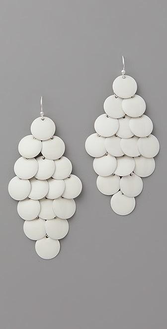 Club Monaco Paillette Cluster Earrings