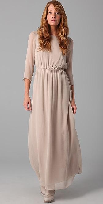 Club Monaco Elvie Long Dress