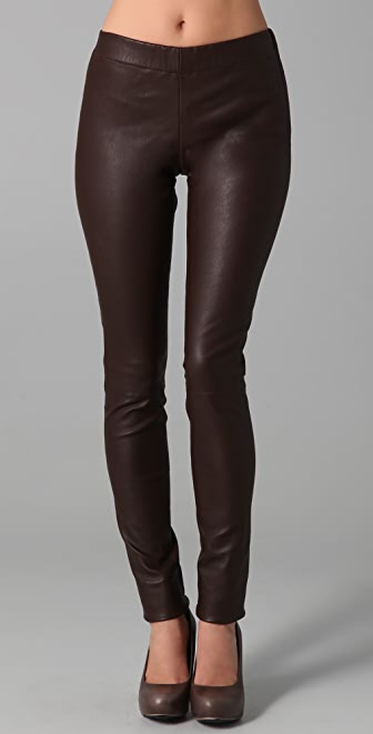 Club Monaco Brityn Leather Leggings